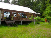 Petersburg AK Waterfront Cabin for Sale on Mitkof Island